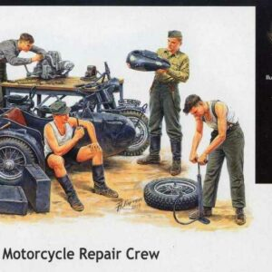 German Motorcycle repair team