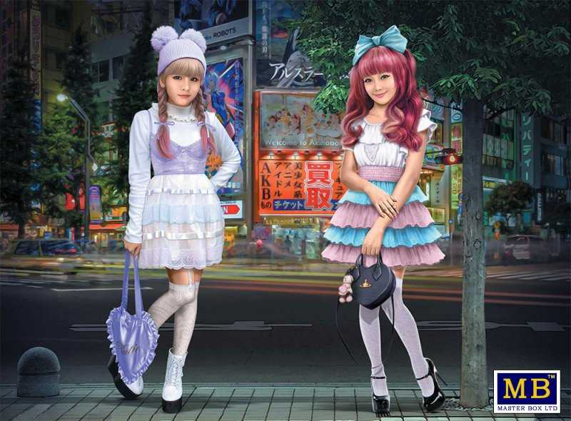 Kawaii fashion leaders Minami and Mai
