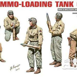 U.S.Ammo-Loading Tank Crew