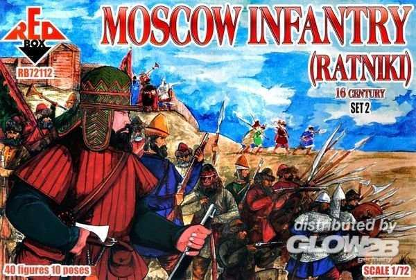 Moscow infantry (ratniki) 16 century – Set  2