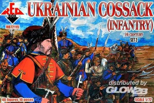 Ukrainian Cossack (infantry) 16  century – Set 2