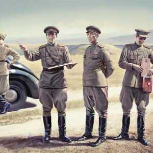 WWII Soviet Staff Personnel (1939-1945)