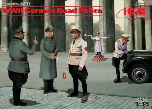 WWII German Road Police