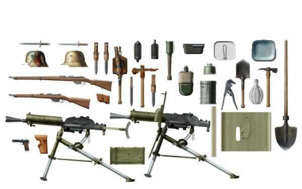 WWI Austro-Hungarian Infanterie