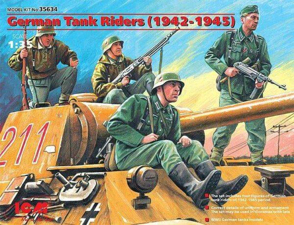 WWII Deutsche Panzerbesatzung