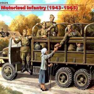 WWII Sowjetische motorisierte Infantry