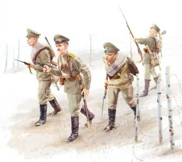 WWI Russische Infanterie
