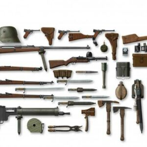 WWI Deutsche Infanterie - Waffen und Zubehör