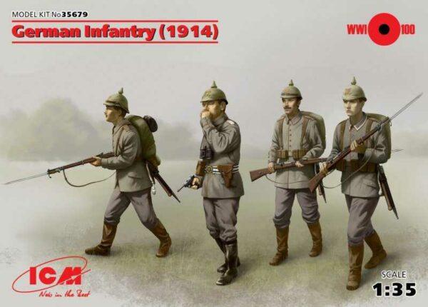 WWI Deutsche Infanterie