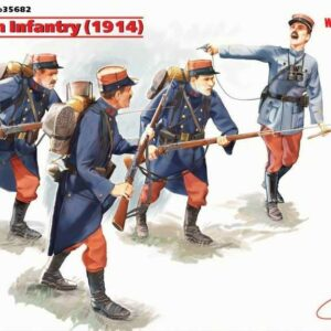WWI Französische Infanterie