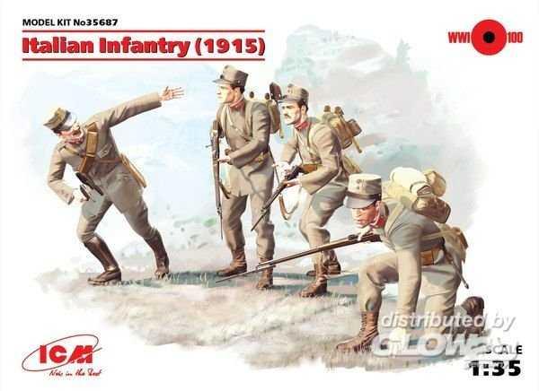 WWI Italienische Infanterie