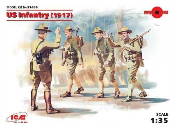WWI US Infanterie