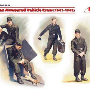 WWII Deutsche Panzerwagen-Besatzung