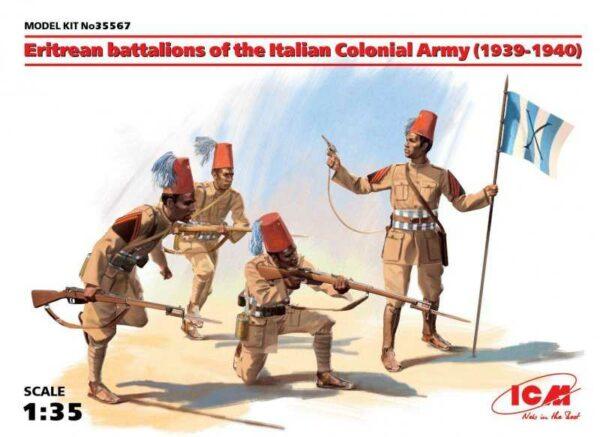 WWII Eriträisches Battalion