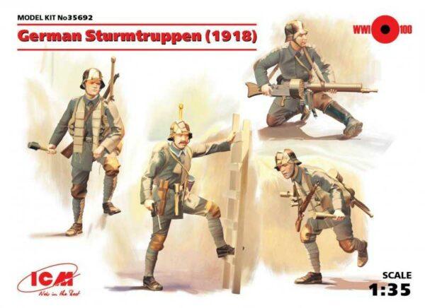 WWI deutsche Sturmtruppen