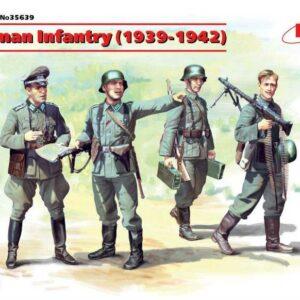 WWII Deutsche Infanterie