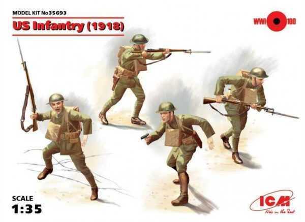 WWI US-Infanterie