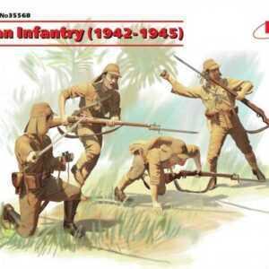 WWII Japanische Infanterie