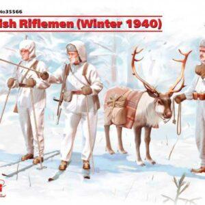 WWII Finnische Infanterie