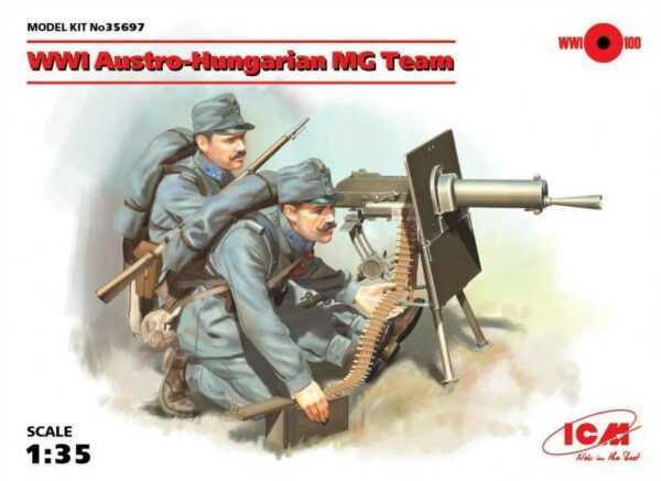WWI Austro-Hungarian MG Team