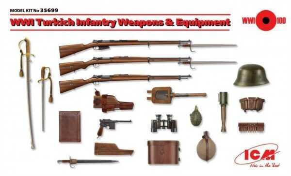 WWI Turkisch Infantry Weapons & Equipment