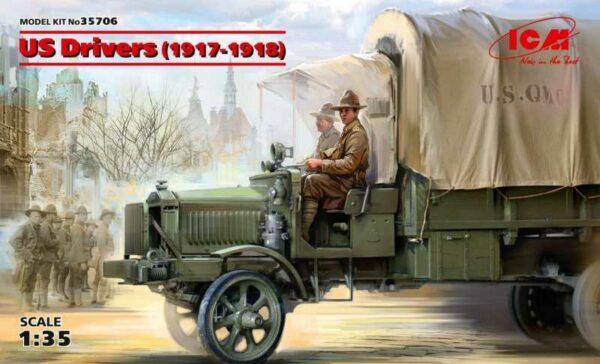 US Drivers (1917-1918) (2 figures)
