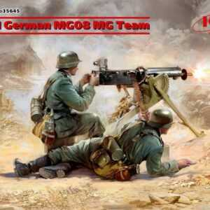 WWII German MG08 MG Team (2 figures)