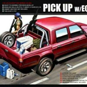 Pick Up w/Equipment
