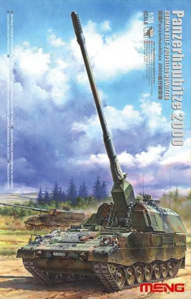 Panzerhaubitze 2000 - German self-propelled howitzer