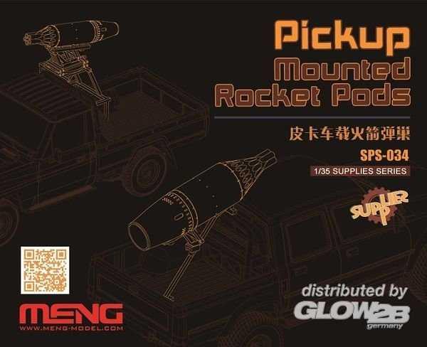 Pickup Mounted Rocket Pods (Resin)