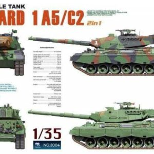 Main Battle Tank Leopard 1 A5/C2 2 in 1