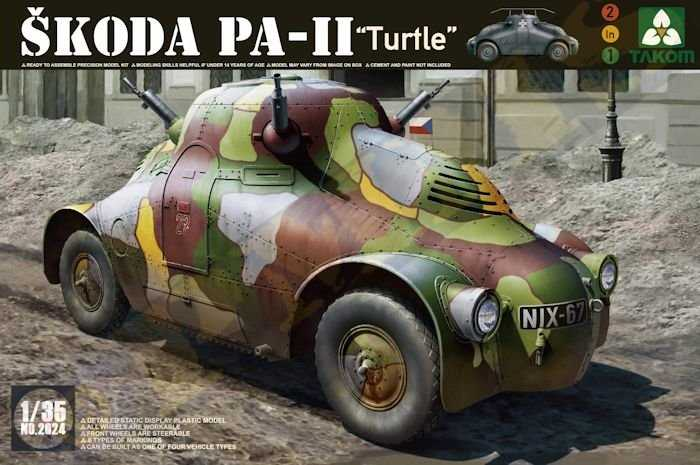 Skoda PA-II Turtel