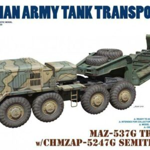 MAZ-537G Tractor w/CHMZAP-5247G Semitrailer