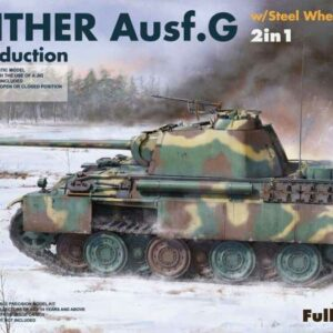 Panther Ausf.G Mid production w/Steel Wheels (2 in 1)