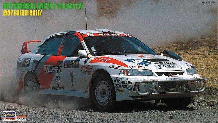 Mitsubishi Lancer Evo IV,1997 Safari Rally
