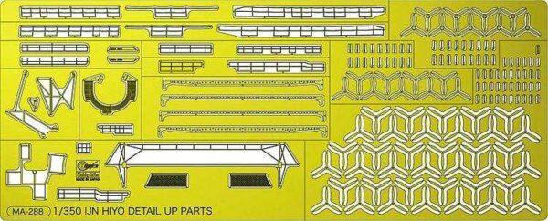 IJN Hiyo Detail Parts