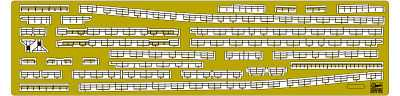Photo Etched Parts Basic ´A´ Set for IJN Light Cruiser Agano Class
