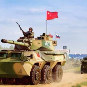 PLA PTL02 Wheeled Tank Destroyer