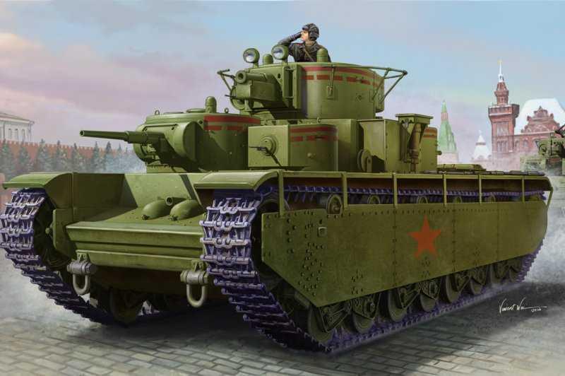 Soviet T-35 Heavy Tank-Early