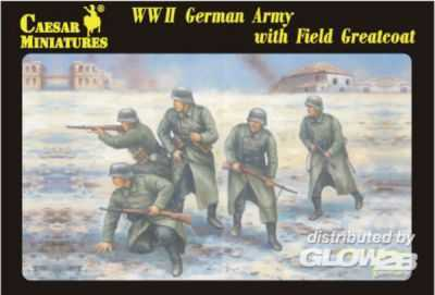 WWII German Army with Field Greatcoat