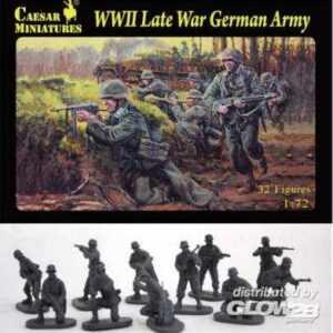 WWII Late War German Army