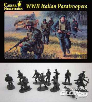 WWII Italian Paratroopers