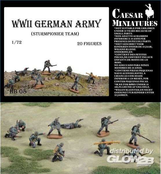 WWII Germans Army (Sturmpionier Team)