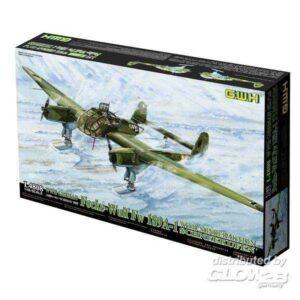 Focke-Wulf Fw 189 A-1 mit Schneekufen