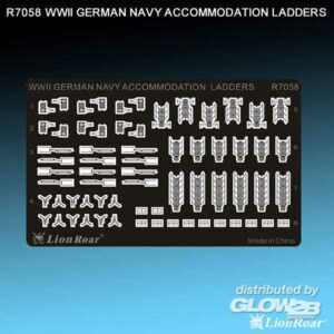 WWII German Navy Accommodation Ladders