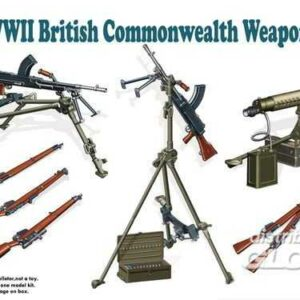 WWII British Commenwealth Weapon Set B