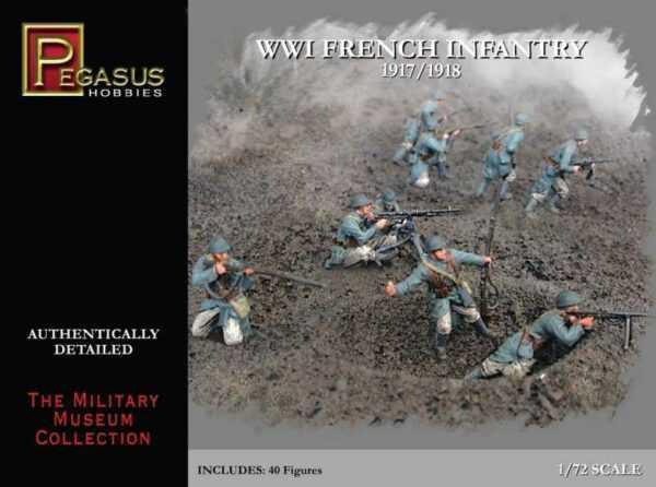 WW I French Infantry