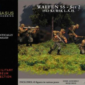 Waffen SS 1943 WWII German Figures Set 2