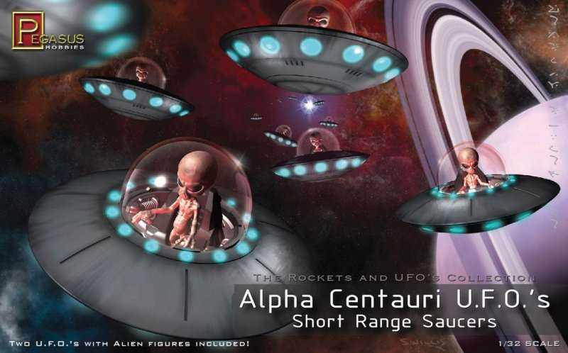 Alpha Centauri UFO (2 per Box)