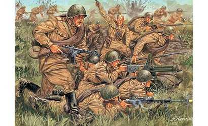 Russian Infantry WWII